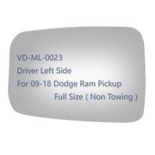 Mirror Glass for 09-18 DODGE RAM 1500 2500 3500  Pickup Driver Left Side LH OEM