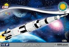 COBI  Saturn V Rocket  / 21080 /  415 elem blocks  Smithsonian toys plane
