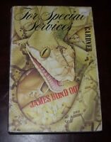 1982 John Gardner For Special Services James Bond Cape 1st edition