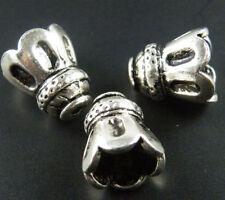 40pcs Tibetan Silver Beautiful Flower Bead Caps 14x12mm ZN20857