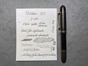 Pelikan IBIS 1936, stilografica a stantuffo con pennino in oro 14k