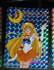 SAILORMOON AMADA PP PRISM CARDDASS CARD CARTE 355 HARD MADE IN JAPAN SAILOR MOON