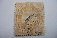 timbre ancien bolivie 1 centavo 1894