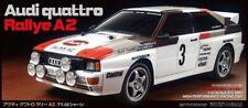 58667 Tamiya Rally Audi Quattro R/C Model Car Kit 1/10 Scale TT-02 4WD Brand New