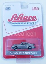 Schuco 8900 European Classics 1/64 Porsche 911 (930) Turbo Raw Metal Chase Car
