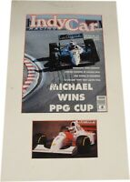 Michael Andretti Hand Signed Magazine Cover Professionally Matted GV 689738