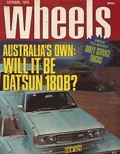 Wheels Oct 75 VW Golf Saab 99L R12 Alfetta GT Chrysler Alpine  News:  •VW Golf