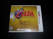 Replacement Case (NO GAME) THE LEGEND OF ZELDA OCARINA OF TIME 3D Nintendo 3DS