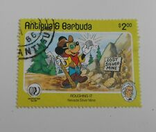 Antigua & Barbuda $2 SG 894 Mickey Mouse Walt Disney character 1985. Fine Used