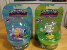 2 x Skylanders superchargers spring ahead dive bomber , eggcited Thillipede