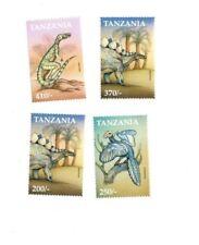Tanzania 1999 Dinosaurs - Set of 4 Stamps - MNH