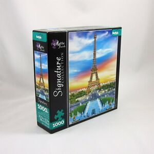 Eiffel Tower Jigsaw Puzzle 1000 Pieces Buffalo Games Made in USA