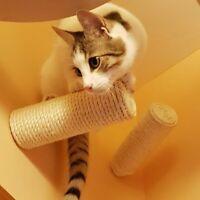 Sisal Stufe, Wand Kratzstamm für Katzen Catwalk Wandpark Treppe Leiter