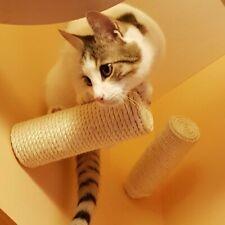 Sisal Stufe, Wand Kratzstamm für Katzen Catwalk Wandpark