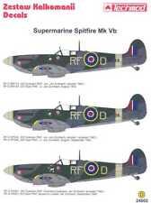 Techmod Decals 1/24 POLISH SUPERMARINE SPITFIRE Mk-Vb