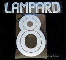 Chelsea Lampard 8 Champions League 2004/05 Football Shirt Name/Number Set Third