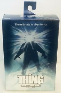 """NECA THE THING Ultimate Edition RJ Macready 7"""" Figure Outpost 31 New(light Wear)"""