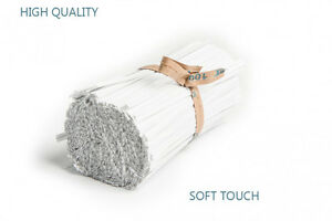 Paper Covered Soft Touch  Wire Ties Used On Food Bags