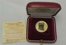 Searchers for the Messiah & Everlasting Love by Moshe Castel 1/4oz Gold Medal