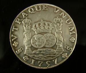 Spain 1757 8 Reales Coin - Ferdinand VI
