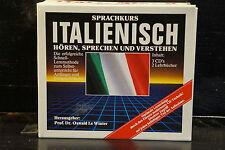 Sprachkurs Italienisch / 3 CDs & 2 Lehrbücher