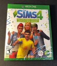 Sims 4 [ Deluxe Party Edition ] (XBOX ONE) NEW