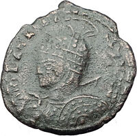 CELTIC Barbarous style of ANCIENT Roman Coin of CONSTANTINE I the GREAT i61586