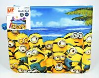 "Despicable Me - Water Resistant Minions Beach Bag (8"" x 10"") New w/Tags"