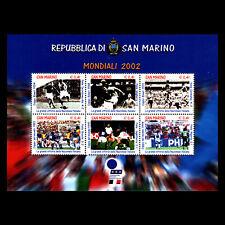 San Marino 2002 - Football World Cup - Japan and South Korea - Sc 1536 MNH