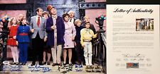Gene Wilder Dawn Cole Michael Bollner Signed Willie Wonka 12x17 Photo PSA