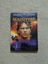 New MacGyver - The Complete Final Season (Dvd, 2006, 4-Disc Set, Checkpoint)
