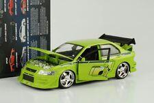 2002 Brian`s Mitshusishi Lancer EVO VII Evolution Fast and & Furious 7 1:24 Jada