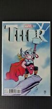 Comic 2014 THOR #1 Skottie Young Variant 1st Cameo Jane Foster Thor MCU NM