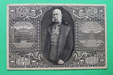 Monarchie Ganzsache Künstler AK 1908 Kaiser Jubiläum Franz Josef Österreich KuK