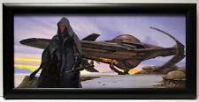 Star Wars Phantom Menace DARTH MAUL SITH INFILTRATOR FRAMED CONCEPT PRINT Chiang