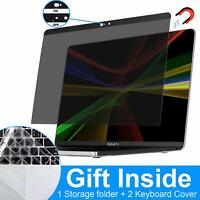 MacBook Pro Privacy Screen Protector, Magnetic Laptop Screen Filters with Webcam
