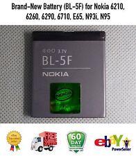 Brand-New Battery (BL-5F) for Nokia 6210, 6260, 6290, 6710, E65, N93i, N95