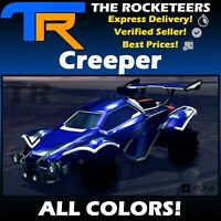 [PS4/PSN] Rocket League Every Painted CREEPER Vindicator Crate Exotic Wheels