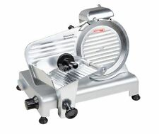 "Electric Commercial Deli Cater Blade 9"" Manual Gravity Feed Meat Slicer, 1/4 HP"