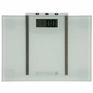 OHM digital weight and body composition meter HB-K115-W Japan Bland