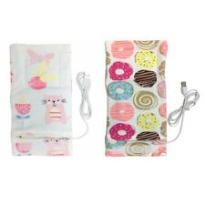 #QZO USB Baby Bottle Warmer Portable Outdoor Infant Milk Feeding Insulated Bag