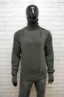 Maglione Uomo Primo Emporio Taglia L Cardigan Pullover Sweater Felpa Cotone Man