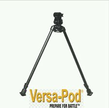 VERSA-POD MODEL 3 BIPOD WITH UNIVERSAL MOUNTING ADAPTER. EXTENDS 15-23 INCHES.