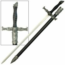 Spirit of the Alpha Wolf Medieval Style Decorative Sword Scabbard Included