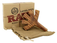 RAW Level Five Wooden Cigarette Holder Authentic Cones Rolling Papers Brand New