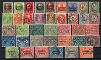 P135627/ BAYERN, OLD GERMANY – YEARS 1908 - 1930 USED SEMI MODERN LOT – CV 125 $