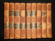 Full 9 Volume Set - The Plays of William Shakspeare - 1811 (Shakespeare) Leather