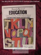 Saturday Review February 1973 CHARLES E. MACARTHUR BALLOONS BUCKMINSTER FULLER
