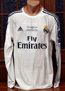 Real Madrid 2013-2014 UEFA Champions League Final Lisbon jersey