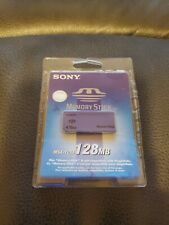 SONY 128MB Memory Stick MSA-128A Sealed New in Package